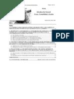 Contabilidad de Costes y Contabilidad Financiera
