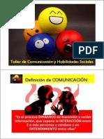 Taller Comunicación 2012