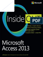 MS Access 2013 Inside Out