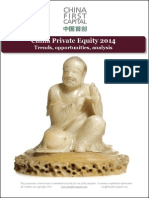 China Private Equity Capital Markets 2014, Research report from China First Capital
