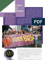 Panfleto_FSM_Marcha Mundial das Mulheres
