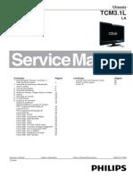Manual Servico Tv Lcd Philips Chassis Tcm3 1L La