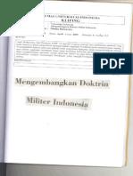 Mengembangkan Doktrin Militer Indonesia