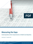 measuring gaps for improvement