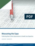 measuring gaps for improvement