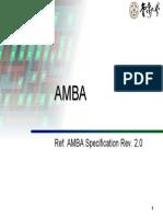 AMBA Lecture
