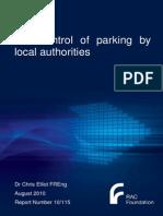 Elliot - Parking Enforcement - Main Report - 16082010