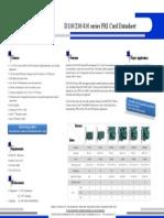OpenVox D210/DE210/D410/DE410 Series PRI Card Datasheet