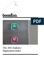 The 2012 Inudstry Digitization Index