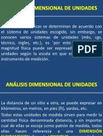 Clase de Analisis Dimensional de Unidades