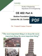 4 Combined Footing, Conrete Design, Foundation