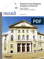 Bulgarian Academy of Science 2009 - Panel Report 4