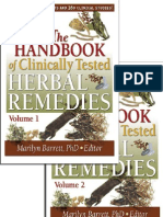 The Handbook of Clinically Tested Herbal Remedies