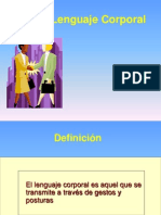 El Lenguaje Corporal-ppt