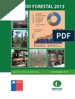 Anuario Forestal 2013
