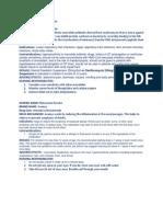 clarithromycin & Avamys