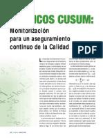 Gráficos CUSUM- Monitorización Para Un Aseguramiento Continuo de La Calidad.2004