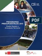 Programa Presupuestal por Resultados