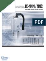 IAI IX NNN/NNC Spec Sheet
