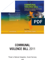 Ram Madhav Book on Communal Violence Bill