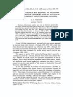 1983 - persinger - pms - geophysical variables and behavior- vii prediction of recent european ufo report