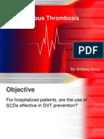 deep vein thrombosis bb
