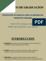 Cascara Sin Semillas Salvucci - Soria q