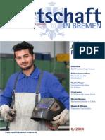 Wirtschaft in Bremen 08/2014 - Fachkräftepotential