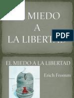 EL MIEDO Libertad
