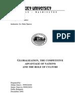 Hw Globalization1 December 1 Genovi