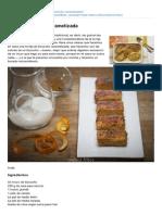 Webosfritos.es-receta de Torrija Caramelizada