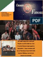 AugCFF Newsletter