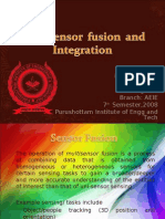 Multisensors Fusion and integration
