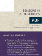 Sensors in automobiles