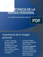 Importancia de La Imagen Personal