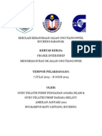 Kertas Kerja Projek Surau