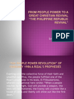 From People Power to a Great Christian Revival