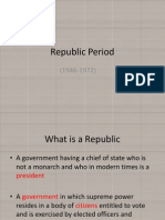 Republic Period