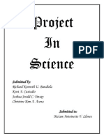 Science Investigatory Project