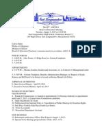 East Longmeadow Board of Selectmen Agenda
