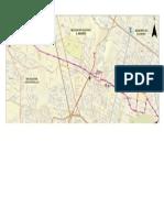 Mapa de Linea 6 de Metrobus Publicada Po El GDF