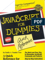 JavaScript_for_Dummies_Quick_Reference - by Vander Vee