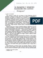 Garcia Maynez - El Mito de Protágoras