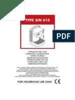 Gran Crema Manual PDF
