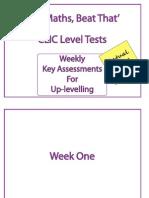 CLIC Test Week 1