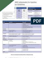 Guias para administrar en forma segura altas dosis de interleukina 2007
