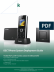 Yealink DECT Phone System Deployment Guide