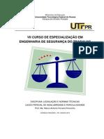 Apostila Legislação e Normas 2013