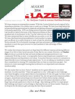 Beacon Hose August 2014 Newsletter