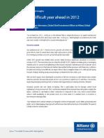 Allianz - Mkt Insgts_RCM 2012 Outlook